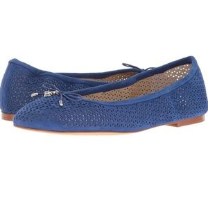 Sam Edelman Felicia 2 Flats Leather Blue 7.5
